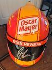 Ryan Newman Signed Full Size Oscar Mayer Nascar Replica Helmet Beckett BAS