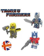 Transformers Mini Figure Optimus Prime & Bumblebee Set Avengers UK Seller