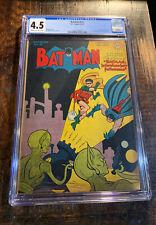 Batman Comics #41 CGC 4.5⭐️1st Batman Sci-Fi Cover & Story⭐️⭐️⭐️