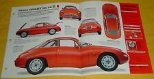 1960 Alfa Romeo Giulietta SZ 4 Cylinder 1290cc 2 Weber Carbs Info/Specs/photo