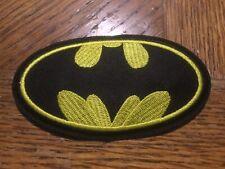 Batman Symbol Embroidered Patch 3.75� x 2�