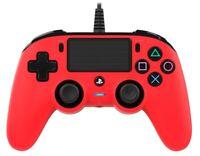 Nacon Controlador Wired Rosso PS4 PLAYSTATION 4 Nacon