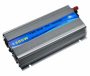 1300W Solar Grid Tie Inverter DC10.8-30V to AC220V MPPT Pure Sine Wave Inverter