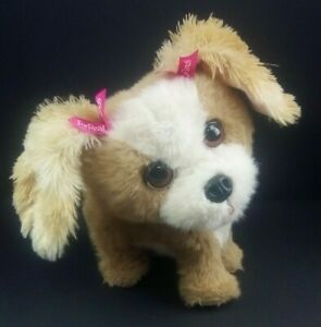 Hasbro FurReal Friends Bouncy My Happy To See Me Pup Play Dog Toy Batteries Inc