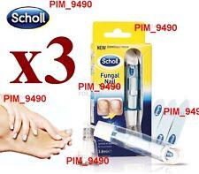 3x Scholl Fungal Nail Treatment 3,8ml, Kill Fungus 99.9%