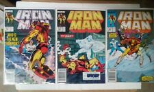 Iron Man issues #231 239 + 240(Marvel,1988)