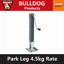 Bulldog Trailer Jack Jockey Stand Park Leg 4500kg Caravan Trailer 180455