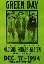Green Day Poster, Madison Square Garden, New York City, 1994