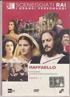 Dvd Sceneggiati Rai RAFFAELLO di Anna Zanoli con Antonio Fattorini completa 1984