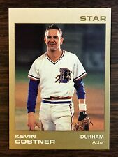 1988 KEVIN COSTNER #9 Star Company Durham Bulls Limited Update Card   H8018106