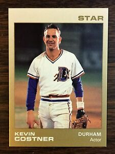 1988 KEVIN COSTNER #9 Star Company Durham Bulls Limited Update Card   D4020430
