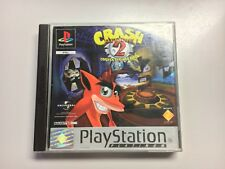 Crash Bandicoot 2 : Cortex Strikes Back, PAL, Complet, PS1