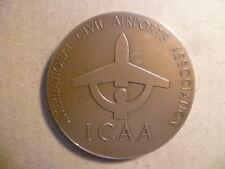 Medaille Bronze Icaa International Civil Airports Verband 30è Kongreß Monaco