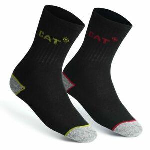 CAT Caterpillar Crew Sport Work Socks Cushioned Heavy Duty Boots Socks lot Mens