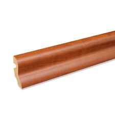 Sockelleiste Fußbodenleiste S-Profil aus MDF in Ahorn 2600x20x40mm