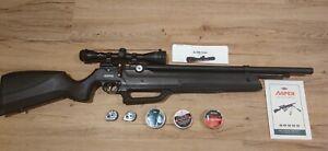 Seneca Aspen PCP .25 slightly used with scope + two 10 magazine + 3 kinds bullet