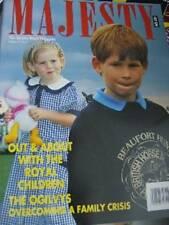 Majesty Magazine V12 #9 Royal Children In Summer, Polo, Queen In Scotland