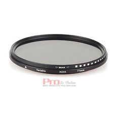 77mm Fader Variable adjustable ND Filter Neutral Density FOR nikon olympus