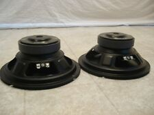 "NEW (2) 8"" Replacement Speakers PAIR.4 ohm.bass woofers.Car Home Audio subwoofer"