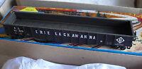 Vintage Athearn 50' Black Erie Lackawanna Gondola Car in Box