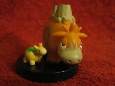 2 Pokemon Figur/Zukan:Camerupt/Camaub/Scale1:40/Figure/gebraucht/Numel/Yujin/F20