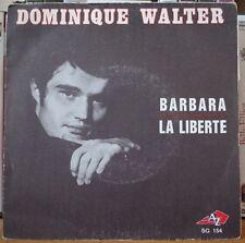 DOMINIQUE WALTER/PREVERT/DENJEAN BARBARA FRENCH SP AZ 1969