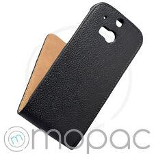 Unifarbene Handyhüllen & -taschen aus Leder für das HTC One