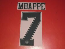 Official name setflocage mbappe psg third jersey (2018/19 lcd) blc junior