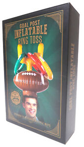 Goal Post Inflatable Ring Toss Game New In Box! Gag Gift Party Game