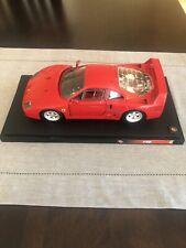 Jaguar XJ220 and Matchbox Ferrari F40 Lot 4 Hot Wheels Escort Rally