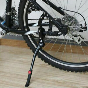 1Pc Adjustable Bicycle Single Leg Kickstand Mountain Bike Stick Stand FootJ*wk