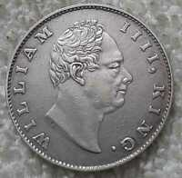 1835 william IIII king east india company half rupee silver rare coin