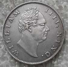 1835 william IIII king east india company half rupee silver rare coin