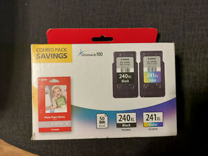 Canon 240XL Black & 241XL Color Ink Cartridge Combo Pack