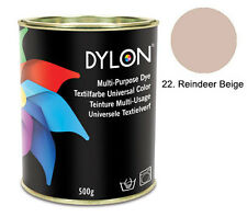 500g Multi Purpose Dye FABRIC DYE DYE MULTI USE COMPLETE RANGE OVER 20 COLOURS!!
