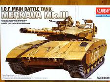 Academy 1:35 Merkava Mk. III MBT Tank Model Kit
