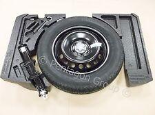 Genuine Nissan Qashqai 2014-Ahorro De Espacio Rueda De Repuesto, espumas, Tool Kit & Neumático