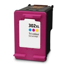 Refilled HP 302 XL Colour Ink Cartridge HP 302XL F6U67AE
