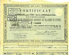 Maatschap v o. Goederen en Waarden in Spanje 1872 Immobilien Spanien Niederlande
