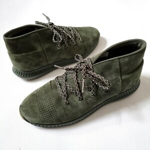 Under Armour Shoes Chukka Veloce Mid Suede Men's 1296614-357 Olive Green 9 UK