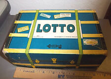 Vintage Milton Bradley Lotto Game 4475 with many Cards and paper marker pieces