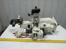 Brueninghaus Aa10vso Variable Axial Piston Double Hydraulic Pump Stack Withvalves