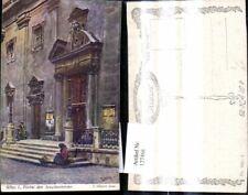 127468,Künstler Ak E. Graner Wien 1 Portal d. Jesuitenkirche