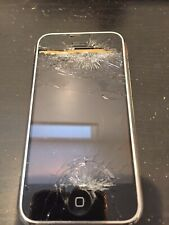 Apple iPhone 2G 1st Gen - 4GB - Black (AT&T) A1203 (GSM) - Cracked - AC226