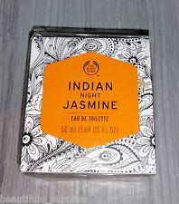 The BODY Shop EDT Eau de Toilette Perfume 50ml 1.7 oz NEW - INDIAN NIGHT JASMINE