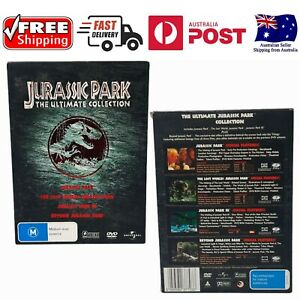 Jurassic Park The Ultimate Collection DVD Box Set - Like New *FREE SHIPPING*