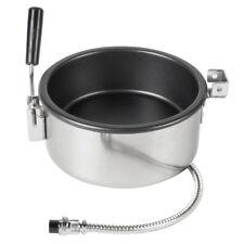 Popcorn Pot Maker Hand-Cranked Electric Popcorn 8oz Professional Accessories 25m