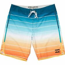 "Billabong Men Tribong X Scallop 19"" Platinum X Boardshorts Swimwear Sz 32"
