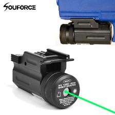 Green Laser Sight QD 20mm Picatinny Weaver Rail Mount for Rifle Gun G17/19/22