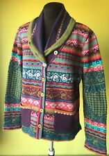 IVKO SALE, Size 14, 16, Cardigan, Short Jacket From Pure Wool
